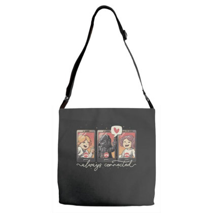 Family Connection Adjustable Strap Totes Designed By Eduely