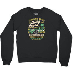 sports car racing Crewneck Sweatshirt | Artistshot
