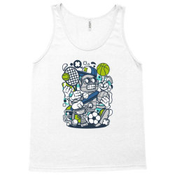 sports robot Tank Top | Artistshot