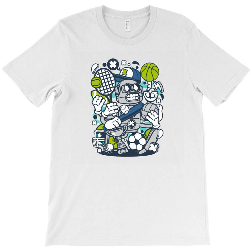 Sports Robot T-shirt | Artistshot