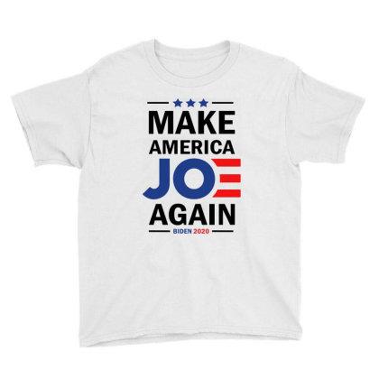 Make America Joe Again    Biden 2020 Youth Tee Designed By Tht