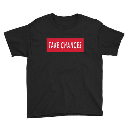 Take Chances Colby Brock Youth Tee Designed By Tht