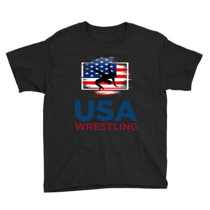 Usa Wrestling Youth Tee Designed By Tht
