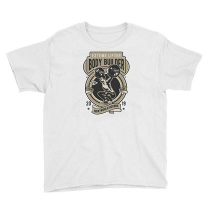 Body Builder  1 Youth Tee Designed By Rulart