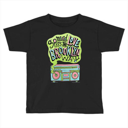 Spread Love Toddler T-shirt Designed By Cahyorin