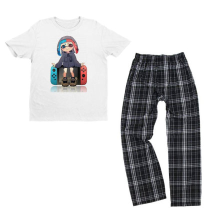 Game Switch Youth T-shirt Pajama Set Designed By Cahyorin