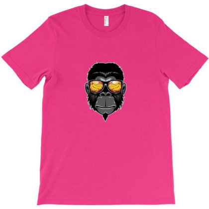 Cool Monkey T-shirt Designed By Asatya