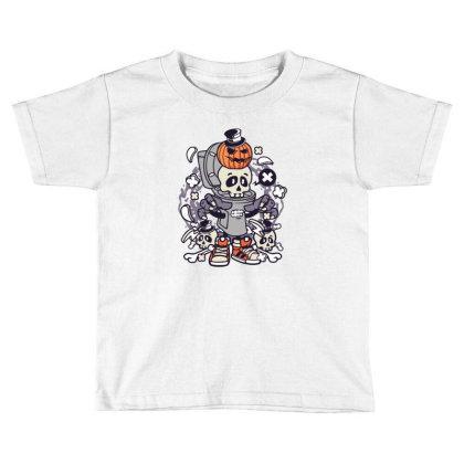 Toilet Closet Toddler T-shirt Designed By Januarart