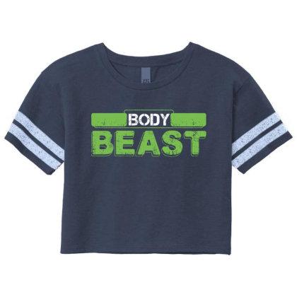 Body Beast Scorecard Crop Tee Designed By Tshiart