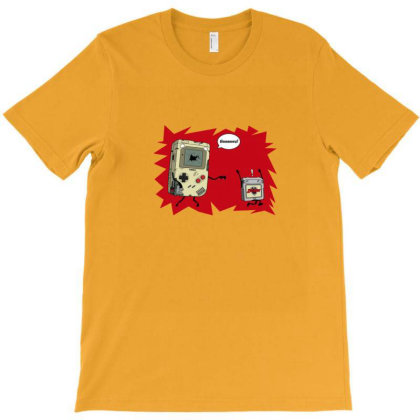 Game Boy Zombie T-shirt Designed By Asatya