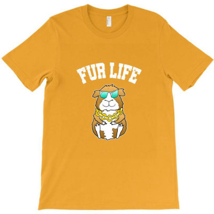 Guinea Pig Hamster Fur Life Cool Pet Lover Owner Gift T-shirt Designed By Asatya