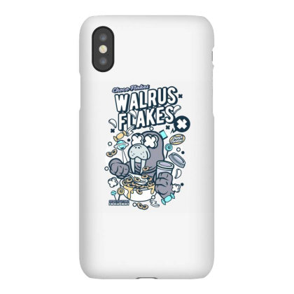 Walrus Flakes Iphonex Case Designed By Januarart