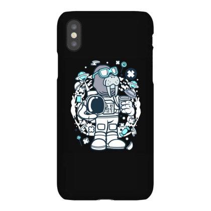 Walrus Astronaut Iphonex Case Designed By Januarart