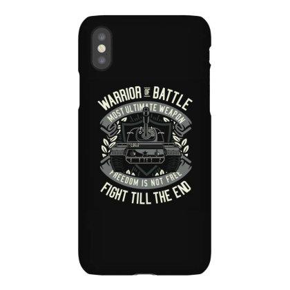 Warrior Of Battle Iphonex Case Designed By Januarart