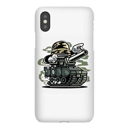 War Tank Iphonex Case Designed By Januarart