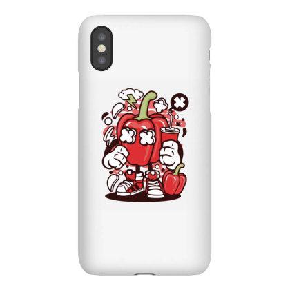 Capsicum Iphonex Case Designed By Rulart