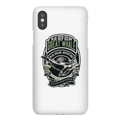 Whale Iphonex Case Designed By Januarart