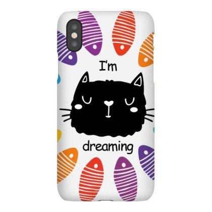 Cat Dream Iphonex Case Designed By Graphicganga