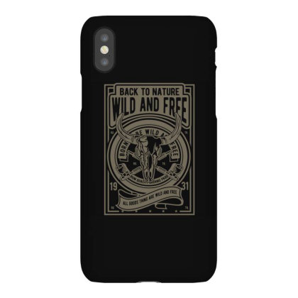 Wild And Free Iphonex Case Designed By Januarart