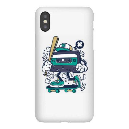 Cassette Skater Iphonex Case Designed By Rulart