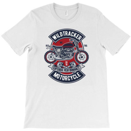 Wild Tracker T-shirt Designed By Januarart