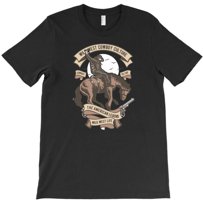 Wild West Cowboy Culture T-shirt | Artistshot