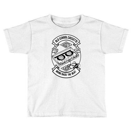 Cassette Toddler T-shirt Designed By Rulart