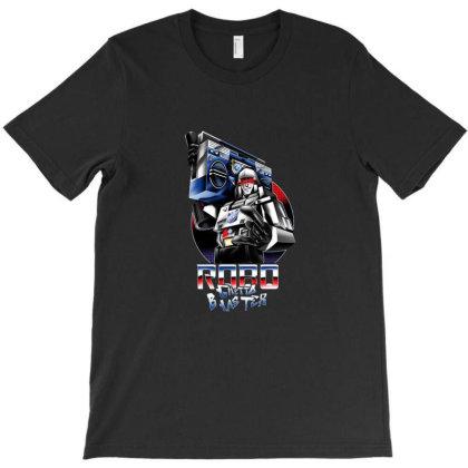 Robo Ghetto Blaster T-shirt Designed By Cuser3730