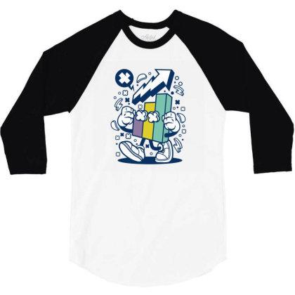 Chart 3/4 Sleeve Shirt Designed By Rulart