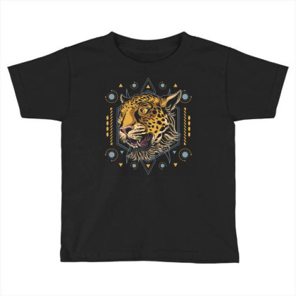 Cheetah Toddler T-shirt Designed By Januarart