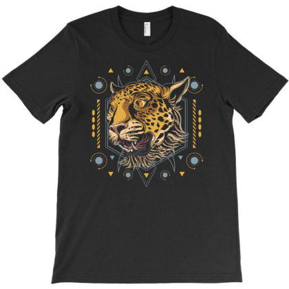 Cheetah T-shirt Designed By Januarart