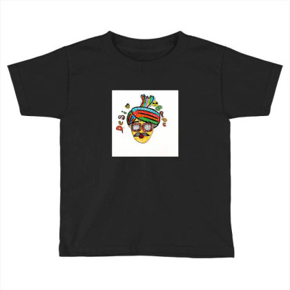 Desi Bapu Toddler T-shirt Designed By _silent_scribbles_