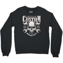 custom motorcycles biker Crewneck Sweatshirt | Artistshot