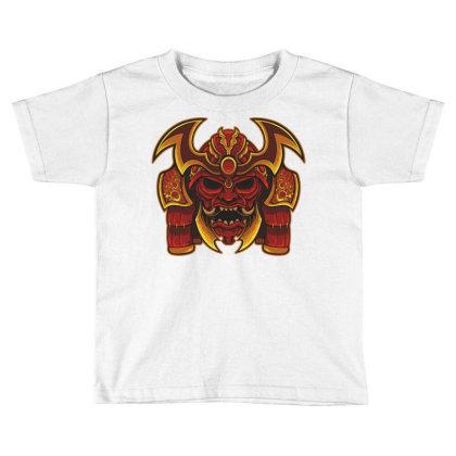 Warrior Skull Toddler T-shirt Designed By Estore