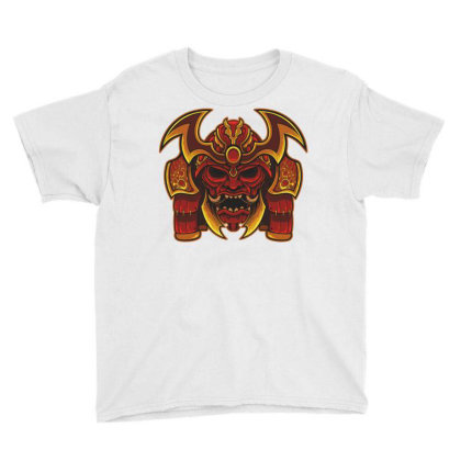 Warrior Skull Youth Tee Designed By Estore