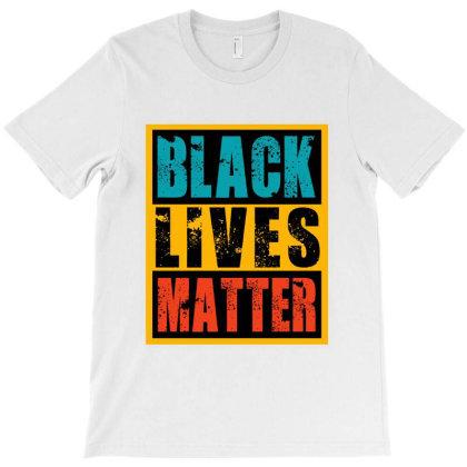 Black Lives Matter Vintage T-shirt Designed By Helloshop
