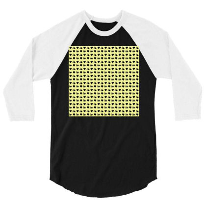 Black Heart 3/4 Sleeve Shirt Designed By Nirali Patel