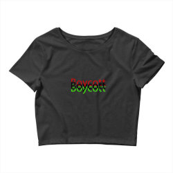 Exclusive Boycott T Shirts Crop Top | Artistshot