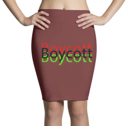 Exclusive Boycott T Shirts Pencil Skirts | Artistshot