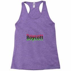 Exclusive Boycott T Shirts Racerback Tank   Artistshot