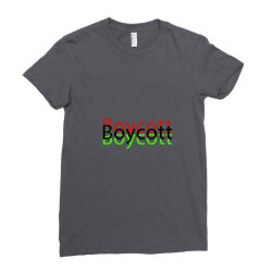 Exclusive Boycott T Shirts Ladies Fitted T-Shirt | Artistshot