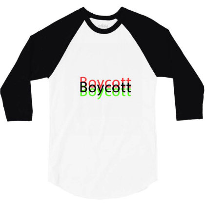 Exclusive Boycott T Shirts 3/4 Sleeve Shirt Designed By Chiks