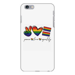 peace love equality iPhone 6 Plus/6s Plus Case | Artistshot