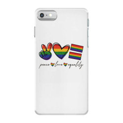peace love equality iPhone 7 Case | Artistshot