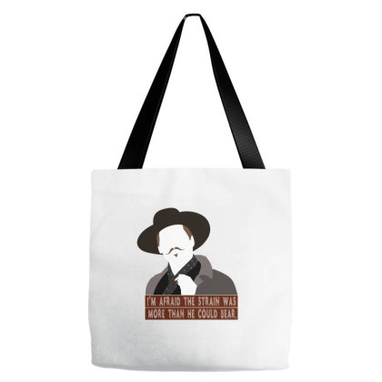 The Strain Was More Than He Could Bear Slim Fit T Shirt Tote Bags Designed By Babydoll