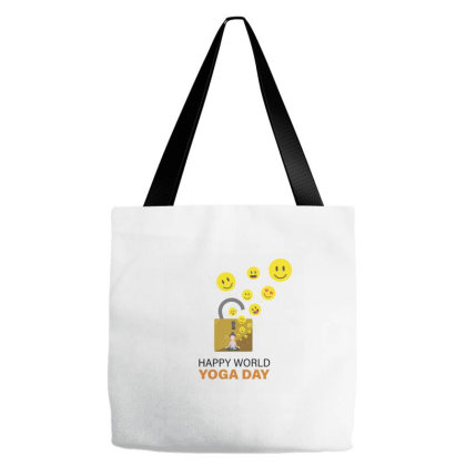 World Yoga Day Tote Bags Designed By Jigneshpanchal