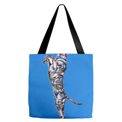 Labrador Retriever And Shephe Tote Bags Designed By Kemnabi