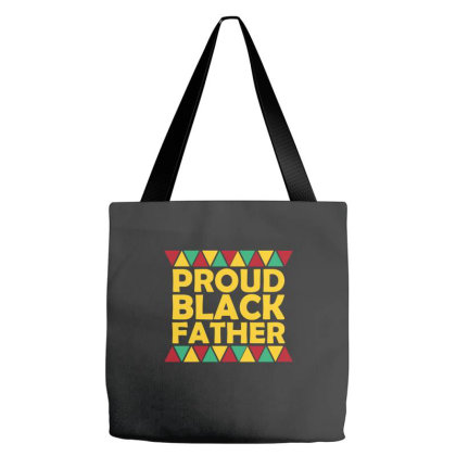 Proud Black Father Tote Bags Designed By Ashlıcar
