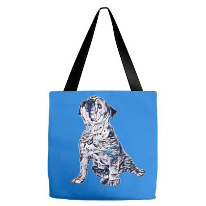 A Bulldog With A Skin Disease Tote Bags Designed By Kemnabi