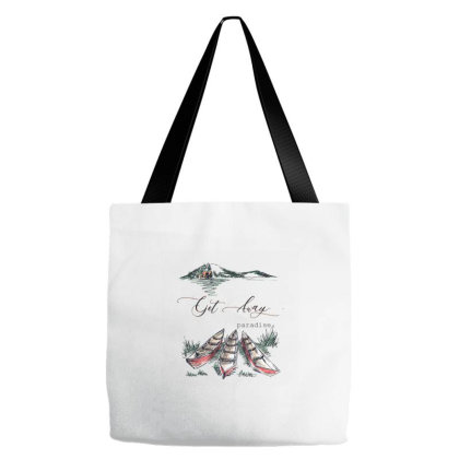 Paradise Tote Bags Designed By Disgus_thing